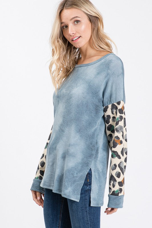 The Leito Top (Blue)