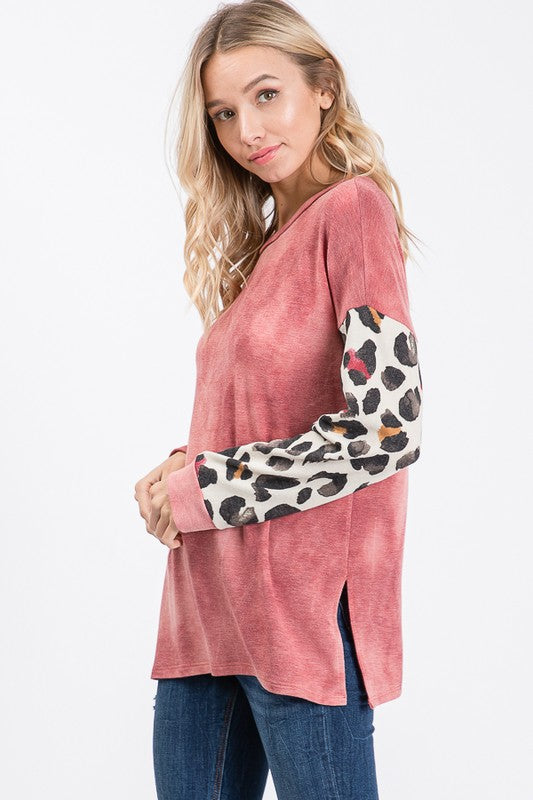 The Leito Top (Pink) (MED ONLY)