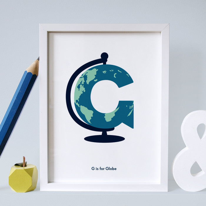 G is for Globe