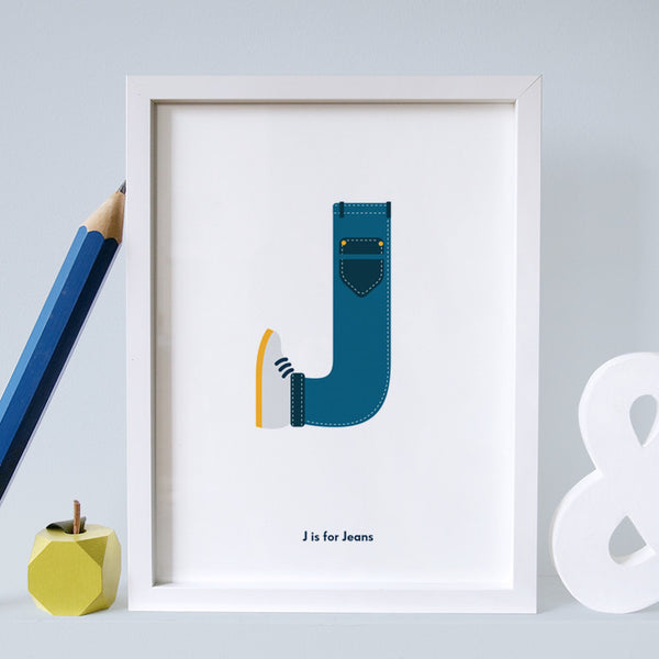J is for jeans
