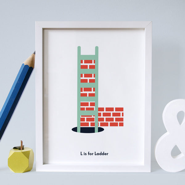 L is for Ladder