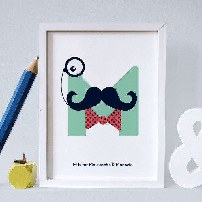 M is for Moustache