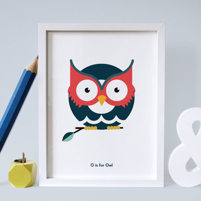 O is for Owl
