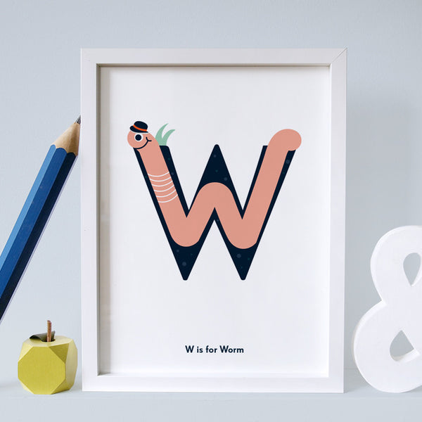 W is for Worm