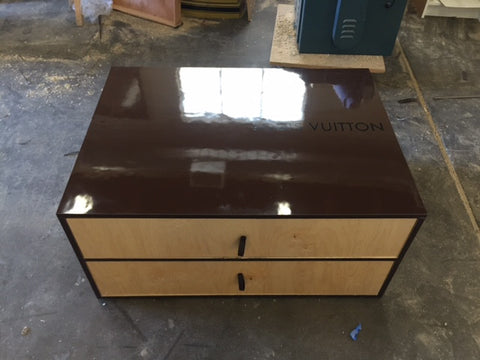 Louis Vuitton inspired Large Shoe Storage Box