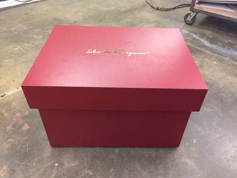 Salvatore Ferragamo Giant Shoe Storage Box
