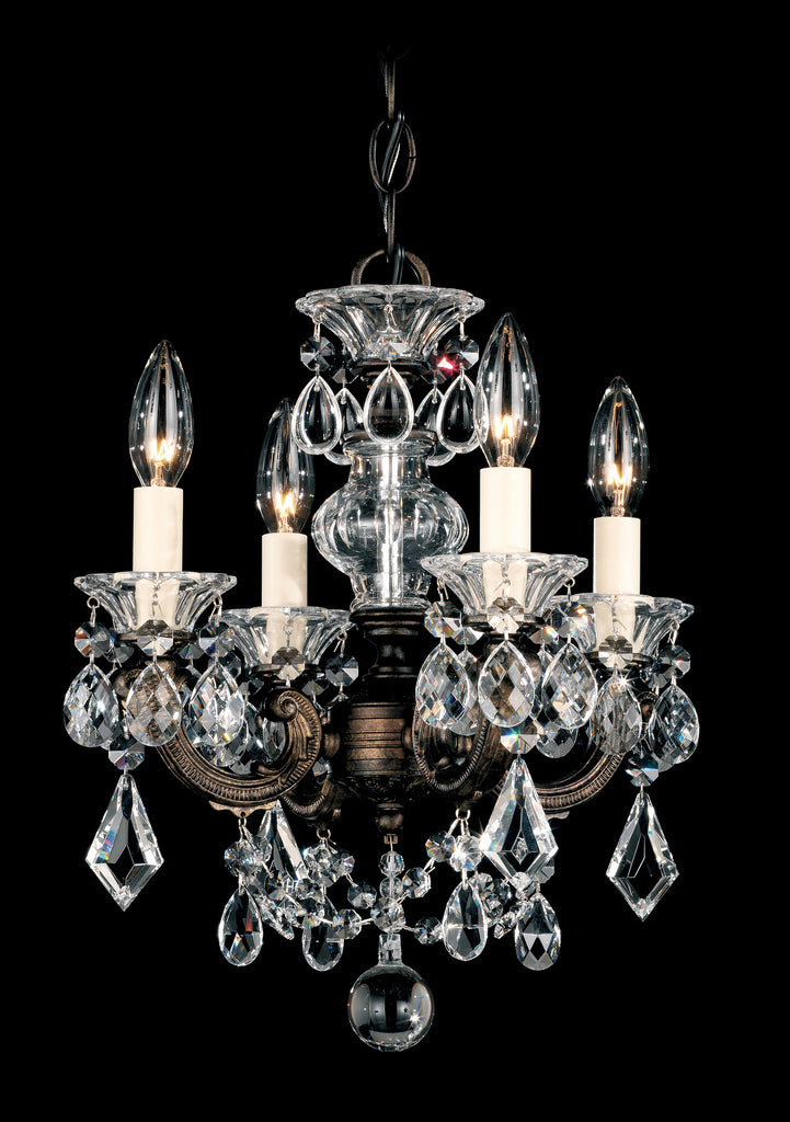 Schonbek 5004 La Scala 13 Inch Mini Chandelier