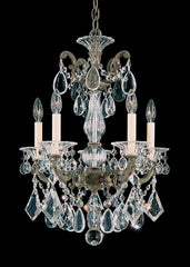 Schonbek 5005 La Scala 17 Inch Mini Chandelier