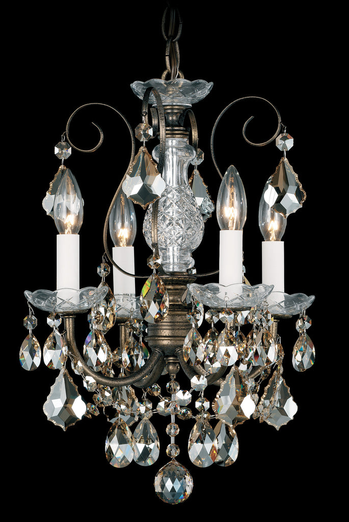 Schonbek 3648 New Orleans 12 Inch Mini Chandelier