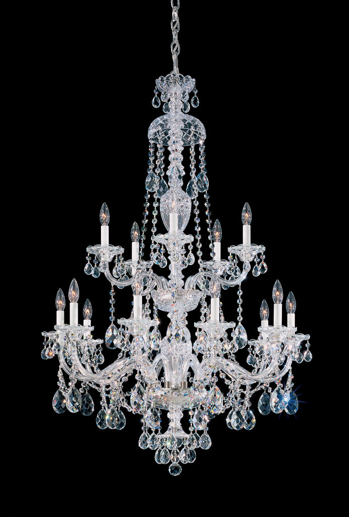 schonbek sterling 32 inch chandelier - Schonbek Lighting