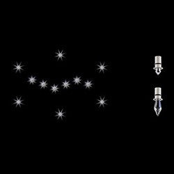 Swarovski Starled Kits Energy Smart Recessed Lighting Trim