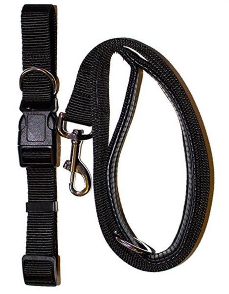 Now in Black - Gordon Wear's Padded Handle Dog Leash for the Sophisticated Dog!
