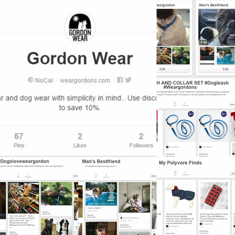 Gordon Wear is on Pinterest!!