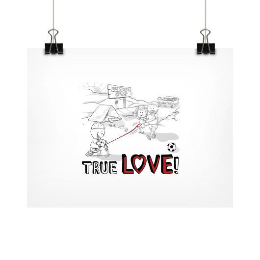 TRUE LOVE! Horizontal Fine Art Prints (Posters) - Gordon Wear
