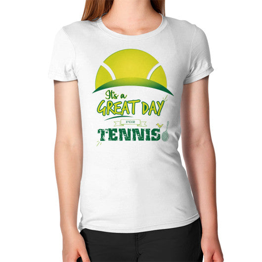 It's a Great Day For Tennis Women's T-Shirt - Gordon Wear