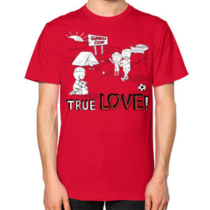 TRUE LOVE! Unisex T-Shirt (on man) - Gordon Wear