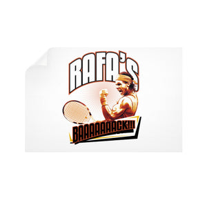 RAFA'S BAAAAAAACK!!! Horizontal Wall Decals - Gordon Wear