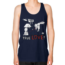 TRUE LOVE! Unisex Fine Jersey Tank (on man) - Gordon Wear