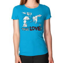 TRUE LOVE! Women's T-Shirt -  T-Shirt  - 16