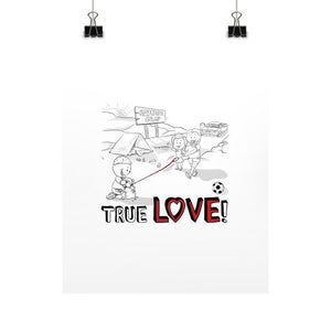 TRUE LOVE! Vertical Fine Art Prints (Posters) - Gordon Wear