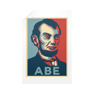 """ABE Lincoln ""Hope"" Design"" Vertical Wall Decals - Gordon Wear"