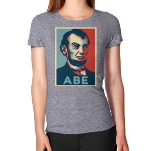 """ABE Lincoln ""Hope"" Design"" Women's T-Shirt - Gordon Wear"