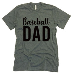 baseball dad tee shirt