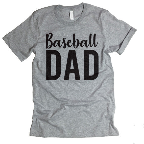 baseball dad shirt
