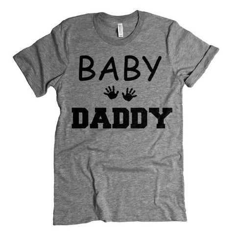 baby daddy t shirt father to be shirt baby shower gift daddy to be