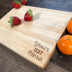 Personalized Cutting Board. Custom Text Board. #34