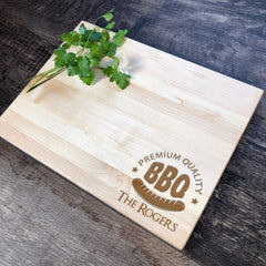 BBQ Cutting Board. Kitchen Decor. Cutting Board Handmade. #37