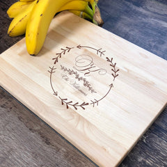 Custom Name Cutting Board. Housewarming Gift. Last Name Cutting Board. #26