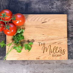 Custom Cutting Board. Personalized Wedding Gift. Bridal Shower Gift. Custom Cutting Board. Mother's Day Gift #14