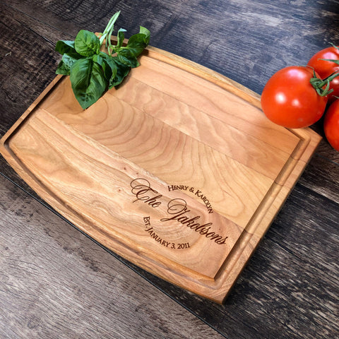 Personalized Cutting Board. Wedding Anniversary Gift. Bridal Shower Gift. Gift For Her. Custom Cutting Board. #13
