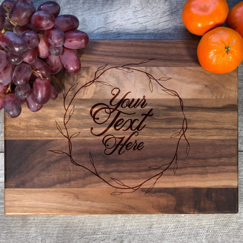 Your Text Here Cutting Board. Custom Cutting Board. #29
