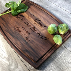 Personalized Gift. Cutting Board. Thank You Mom Gift. Cutting Board. You Are The Best. Custom. Mother's Day. #47