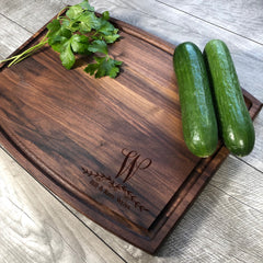Personalized Cutting Board. Wedding Gift. House Warming Gift. Engraved Cutting Board. Custom Board. #8