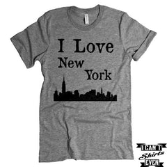 I Love New York T-shirt. NY Shirt. USA. Tee Shirt
