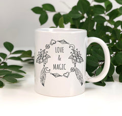 love and magic mug