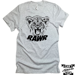 Lion Cub T-shirt. Rawr Tee. Lion Shirt. Pet lover shirt. Personalized Tee.