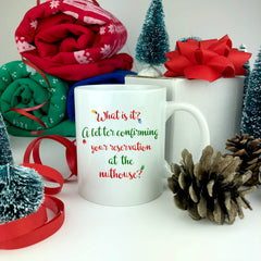 What Is It Christmas Mug.