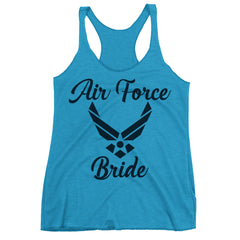Air Force Bride Racerback Tank Top.