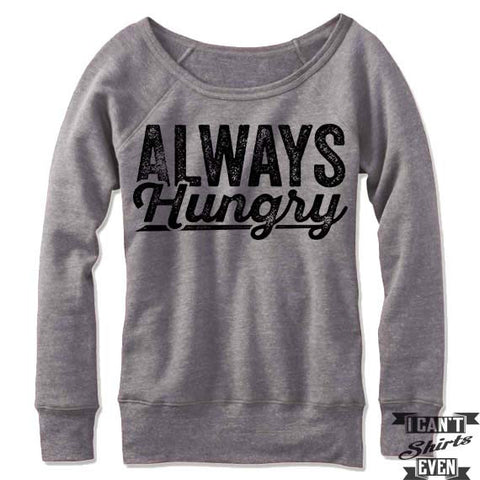 Always Hungry Off Shoulder Sweater