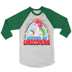 Mother of Unicorns Baseball Shirt