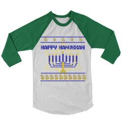 Happy Hanukkah Baseball Shirt
