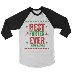 Best Farter Ever Baseball Shirt