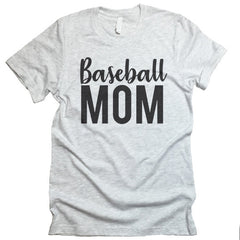 baseball mom tee shirt