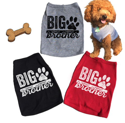 Big Brother Dog Tank. T-shirt.