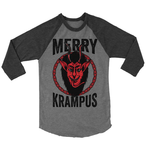 Merry Krampus Baseball Shirt