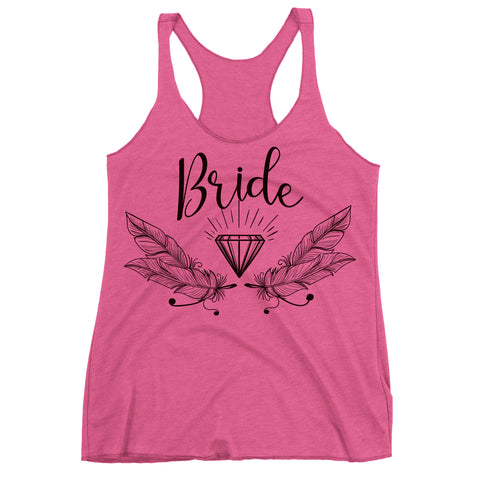 Bride Racer back Tank Top.